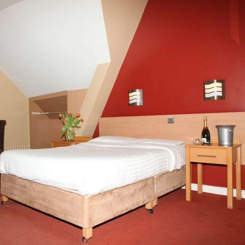 Comfortable and spacious bedrooms at The Harding Hotel