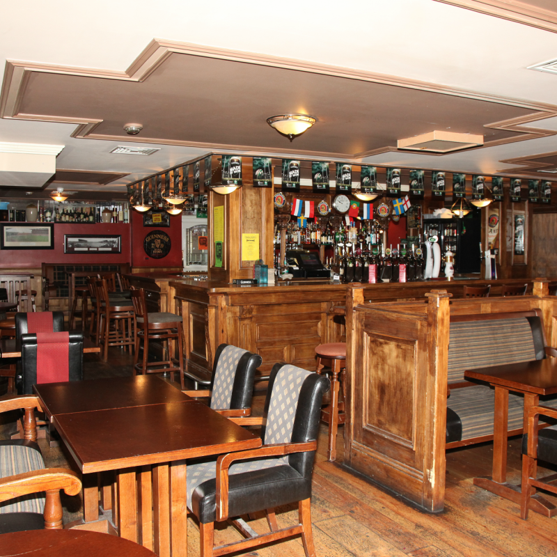 Experience the craic and ceol of Darkey Kelly's Irish Bar at The Harding Hotel